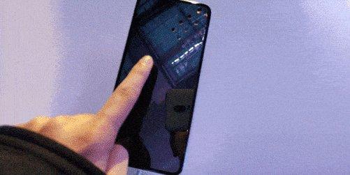 华为Mate40黑科技:全屏指纹解锁?