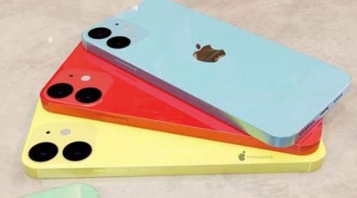 iPhone 12多彩渲染图曝光:5.4英寸+6大配色