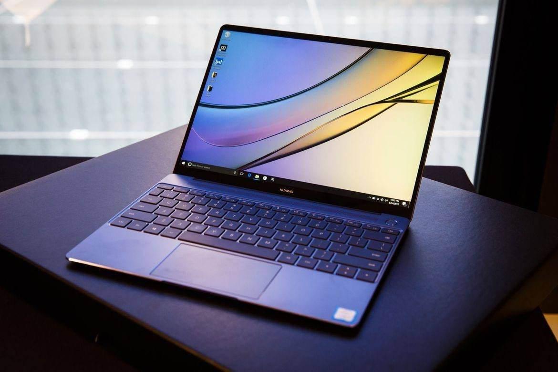 华为MateBook X发布会亮相,业内首款悬浮全面屏!