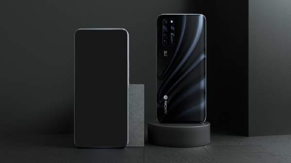 中兴AXON20宣传图曝光, 屏下摄像头手机搭载八核处理器