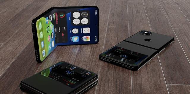 iPhone 12 Flip概念图曝光:与三星折叠设计类似