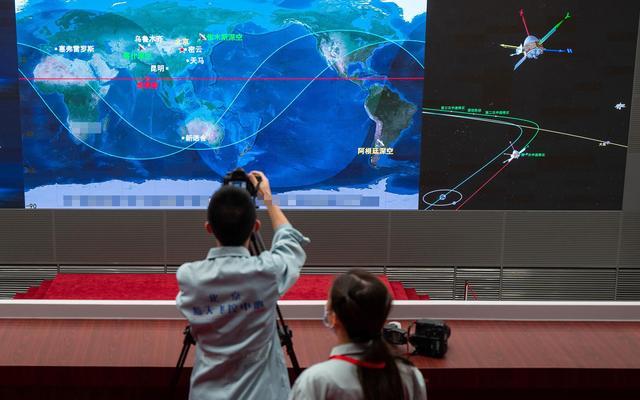 天问一号第二次轨道修正什么时候,天问一号为什么要进行中途修正?