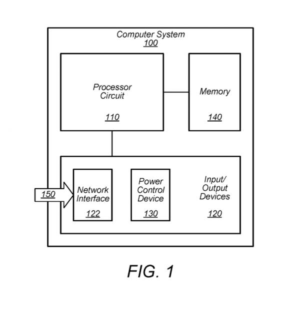 苹果专利:在待机状态下控制计算机系统