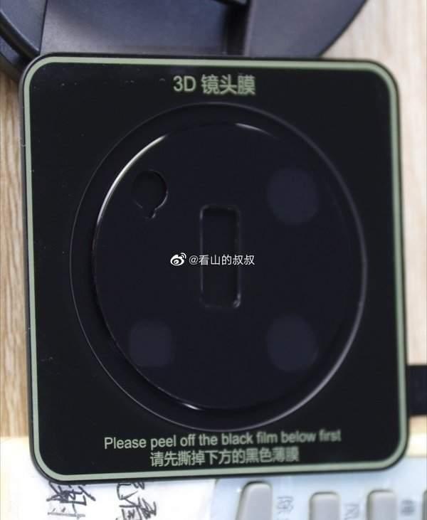 华为Mate40系列局部镜头膜曝光:延续Mate30镜头圆形模块设计