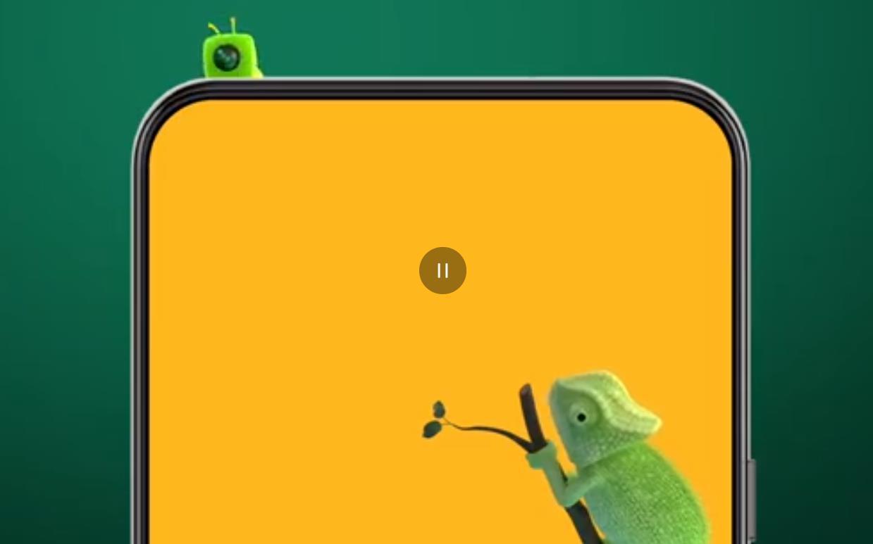 中兴AXON 20屏下摄像头宣传片来袭!创意100分!