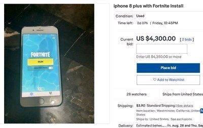 二手iphone最高卖出7万元,竟然是安装了这个游戏!
