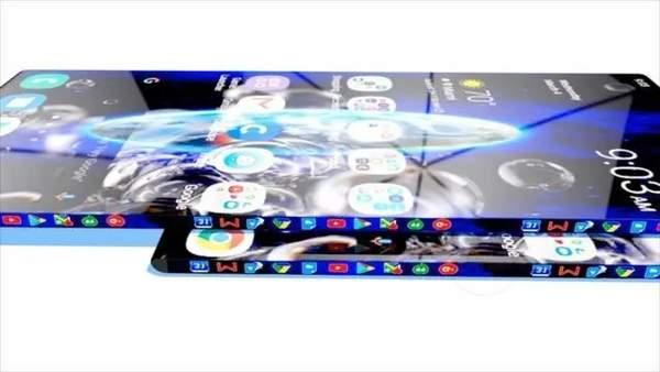华为P50Pro概念图曝光,正反双屏+后置5摄科幻十足
