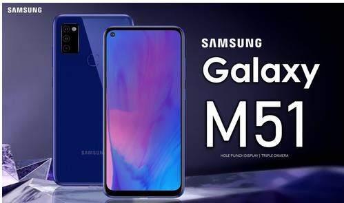 三星Galaxy M51最新曝光:6.65英寸+7000mAh+25W