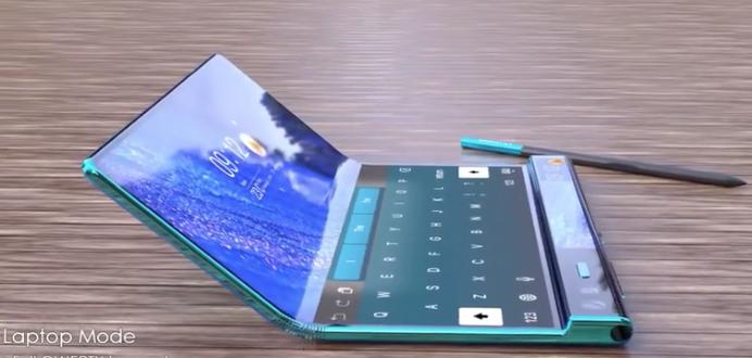 华为折叠手机最新款Mate X2:手写笔+双屏操作