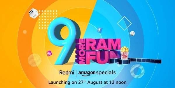 印度Redmi 9即将发布,预计8月27日上市