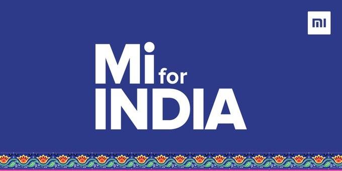 Mi for INDIA!小米印度将推出全新品牌LOGO