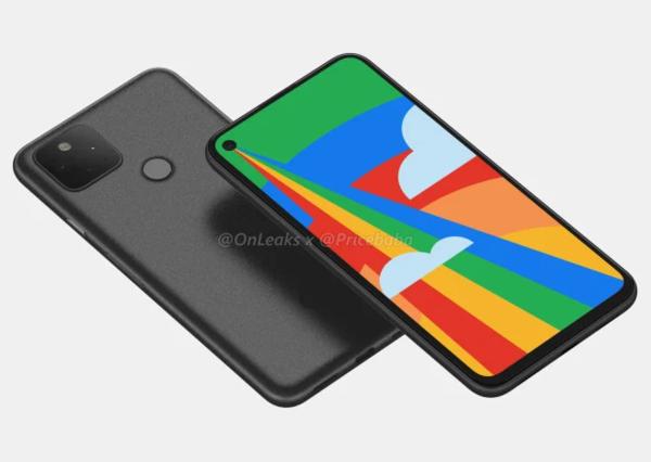 谷歌Pixel 5渲染图曝光:外观设计超赞!