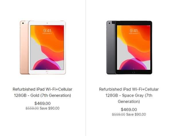 苹果10.2英寸iPad开售,价格折扣约为15%