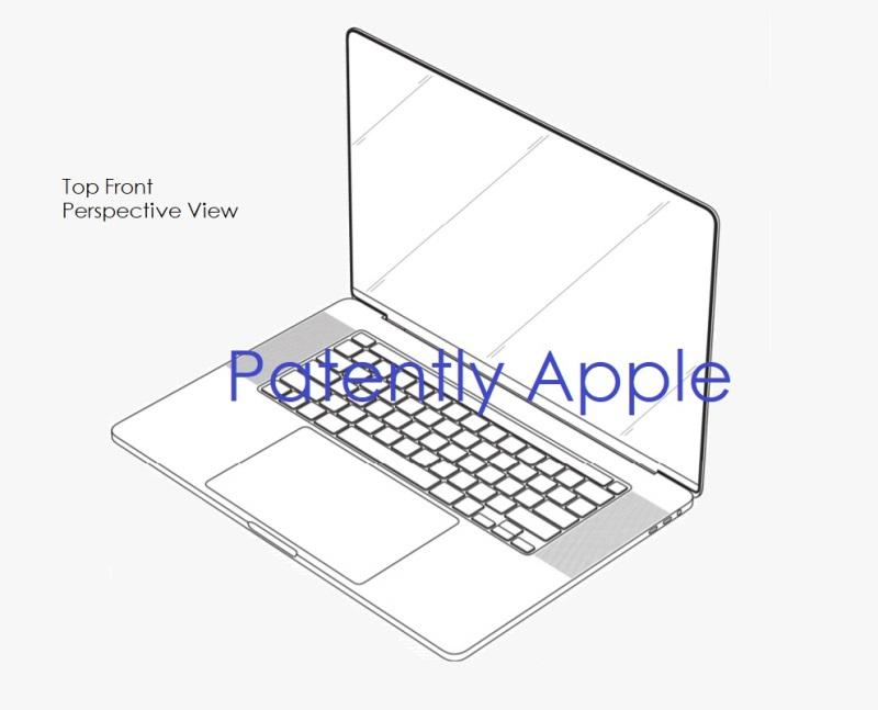 苹果MacBook Pro最新消息,外观专利曝光!