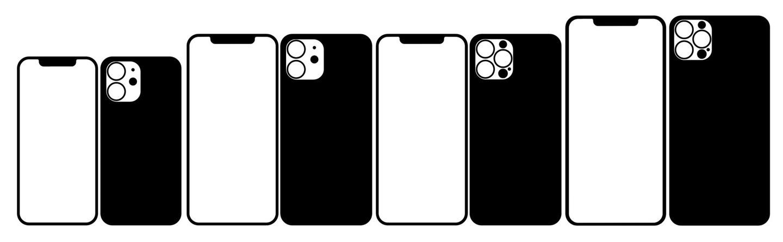 苹果iPhone12全系列设计图曝光:刘海面积没有缩小