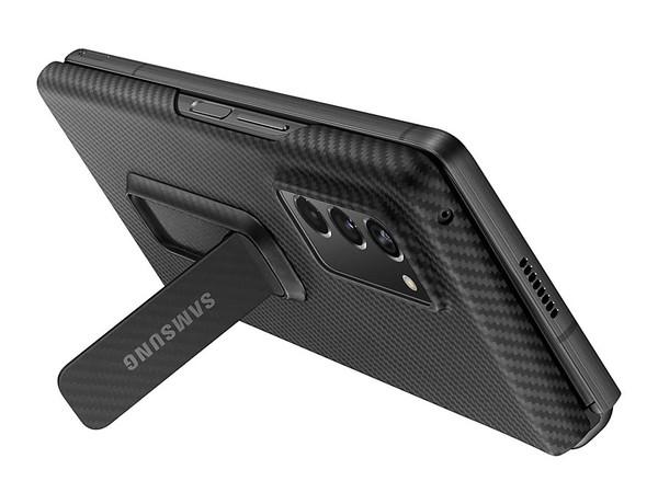 三星Z Fold 2保护套正式曝光:多种配色+皮革材质+背部支架