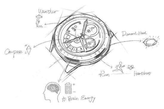 荣耀GS Pro手表将9月4日发布,可以打败同价位华为手表!
