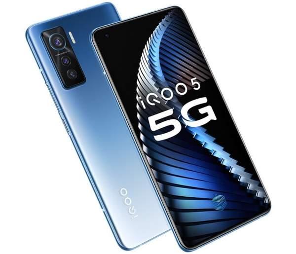 iQOO5手机正式开售:搭载全新骁龙865处理器3998元起售