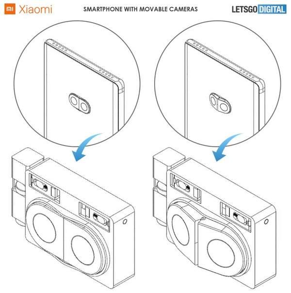 小米新专利曝光,可凸起镜头你见过吗?