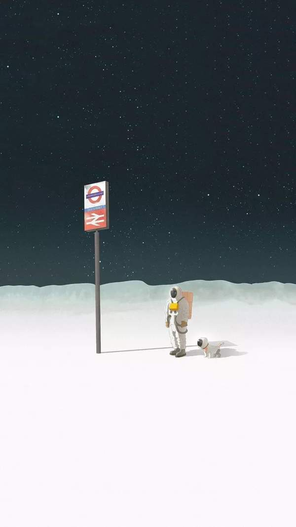 iphone宇航员壁纸下载,宇航员太空iPhone高清壁纸