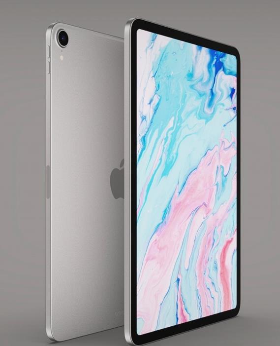 iPad Air4渲染图曝光,屏占比提高了!