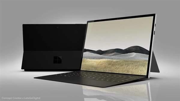 微软Surface Pro8渲染图曝光,外观颜值提升!