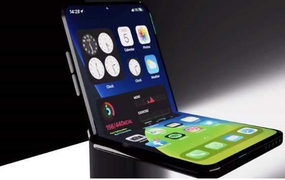 苹果可折叠iPhone曝光:外观类似Galaxy Z Flip