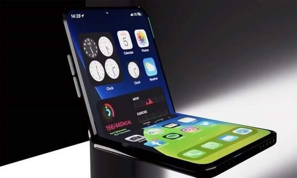 iPhone折叠机曝光,或采用上下折叠设计