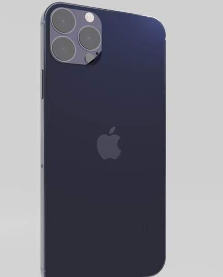 iPhone12 Pro Max最新外观渲染图曝光:实锤装配LiDAR