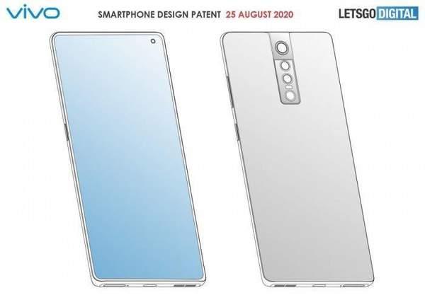 vivo新手机外观专利实锤,你感觉这个效果怎么样?