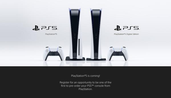 索尼PS5已开放在线预购,但仅限于美国地区