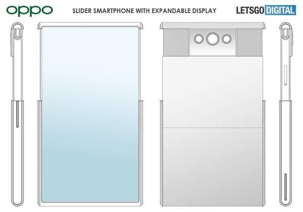 OPPO手机屏幕新专利曝光:显示面积可提升80%