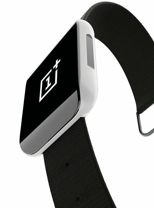 一加首款智能手表曝光:全面屏设计运动范十足!