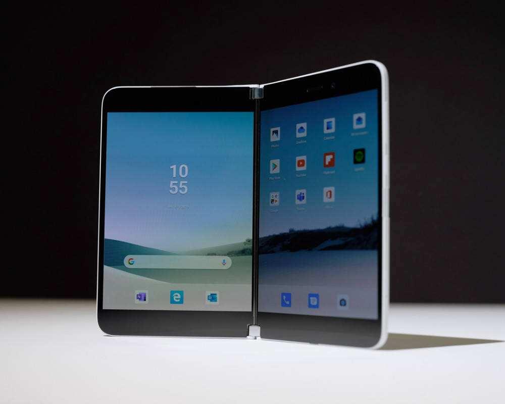 微软surface duo最新消息:电池可全天续航