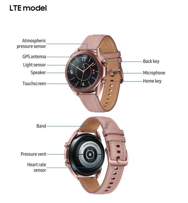 三星Galaxy Watch 3曝光更多细节,不支持5G网络