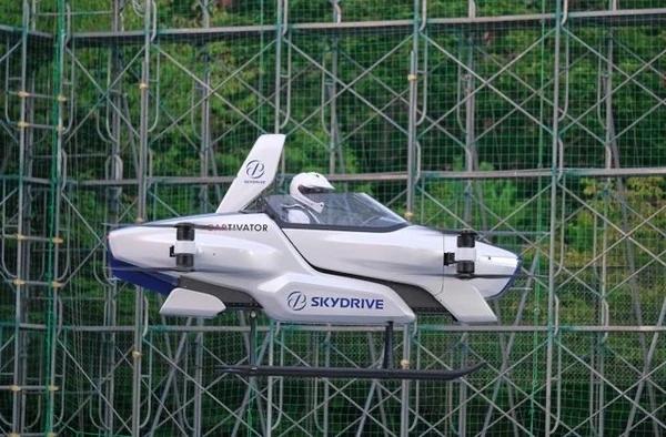 日本飞行汽车实现载人测试,或在2023年成为普遍产品!