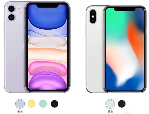 iPhone11和iPhoneX哪个好?参数配置对比