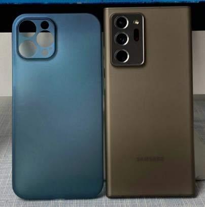 iPhone12ProMax和Note20Ultra对比,哪个更好看?