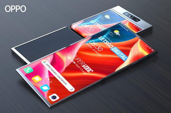 oppo折叠屏手机曝光:采用屏幕外折叠方案