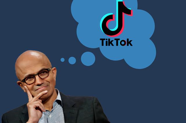 微软收购tiktok的背后,欲与Facebook一较高下!