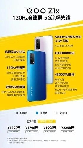 iQOO Z1x详细参数:值得购买吗?