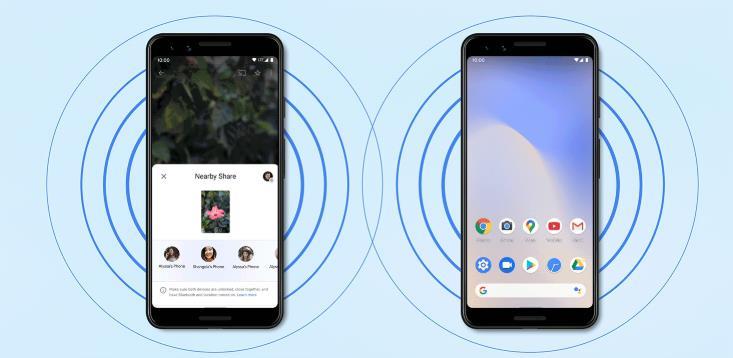 """谷歌为安卓设计""""附近共享"""",功能与苹果""""AirDrop""""类似"""