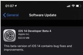 ios14beta4更新内容:3d touch已修复