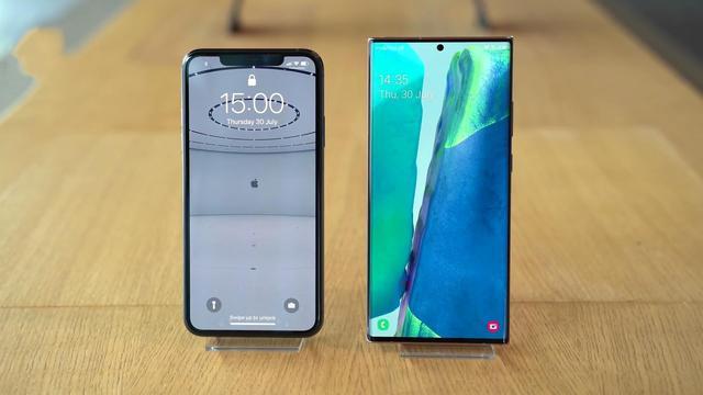 三星Note20Ultra和iPhone11ProMax对比,参数测评