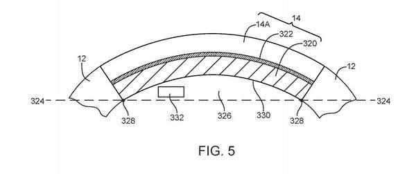 苹果新专利曝光:环绕式显示屏?