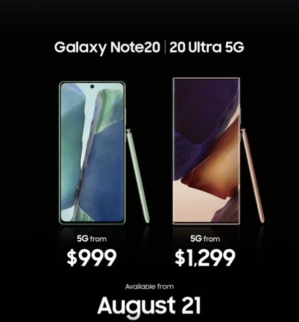三星Note20/Ultra配置评测:各方面均有升级!