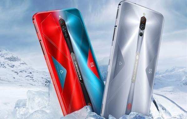 努比亚红魔5s刷新率高达144HZ,颜值与实力并存的游戏手机