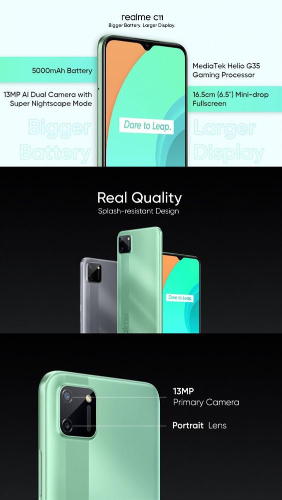 realmeC12相关参数曝光:配备高容量电池