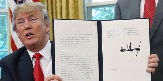 正式封杀tiktok微信,特朗普于今签署行政令