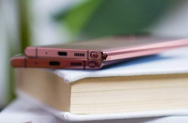三星Note20/Note20 Ultra真机实拍图赏:二者外观有何区别?